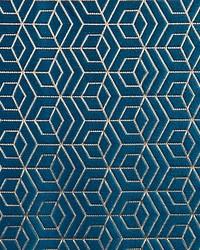 Scalamandre Hoopstar Deep Sky Fabric