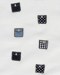 Scalamandre Pockets Assorted Blues Fabric