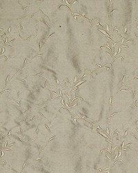 Old World Weavers Honeysuckle Embroidery Ivory Fabric