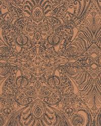 Scalamandre Persian Nights Copper Fabric