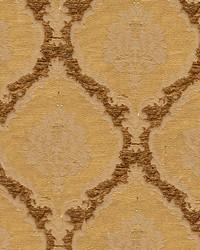 Scalamandre Ecussons Gold Fabric