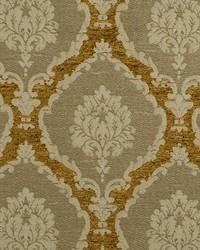 Scalamandre Ecussons Brass Fabric