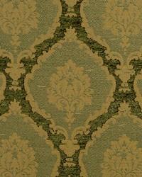 Scalamandre Ecussons Green Fabric