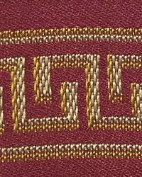 Scalamandre Massena Galon Rouge Fabric