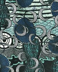 Scalamandre Meltingpot Aqua Fabric
