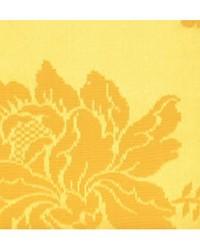Scalamandre Alicante Damask Bright Yellow Fabric