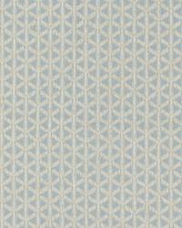 Old World Weavers Cross Channel Sky Fabric