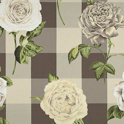 Scalamandre GERTRUDES ROSE WHITE ROSE ON HEMP PLAID Search Results