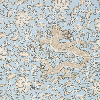Scalamandre CHIEN DRAGON LINEN PRINT SKY Search Results