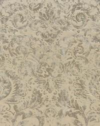 Scalamandre Palladio Velvet Damask Antique Silver Fabric
