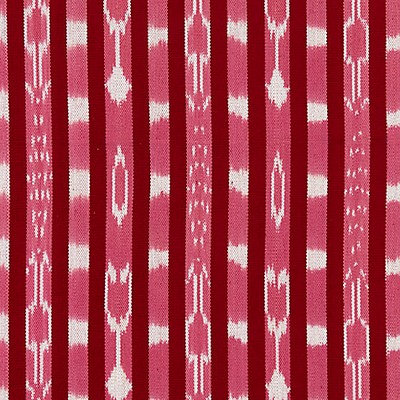 Scalamandre JAKARTA IKAT STRIPE RASPBERRY Search Results