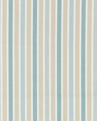 Scalamandre Leeds Cotton Stripe Seaglass Fabric