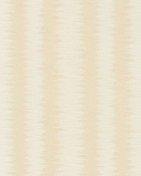Scalamandre Konya Ikat Stripe Champagne Fabric