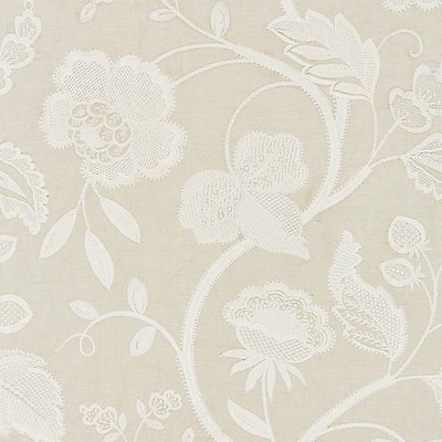Scalamandre KENSINGTON EMBROIDERY FLAX Search Results