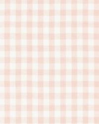 Scalamandre Swedish Linen Check Blush Fabric