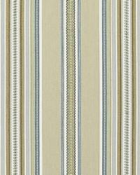Scalamandre Cyrus Cotton Stripe Prairie Fabric