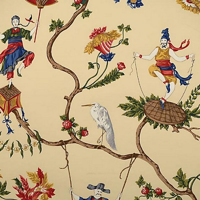 Scalamandre Wallcoverings MING CIRCUS MULTI ON BEIGE Search Results