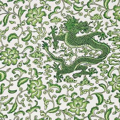 Scalamandre CHIEN DRAGON LINEN PRINT JADE Search Results