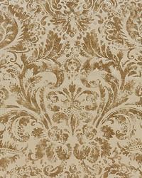 Scalamandre Palladio Velvet Damask Burnished Gold Fabric