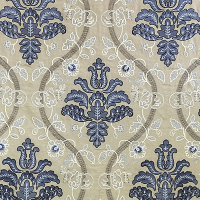 Scalamandre ISABELLA EMBROIDERY PORCELAIN Search Results