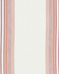 Scalamandre Nautical Stripe Hibiscus Fabric