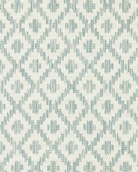 Scalamandre Malay Ikat Weave Aquamarine Fabric