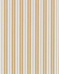 Scalamandre Devon Ticking Stripe Camel Fabric