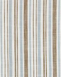 Scalamandre Pembroke Stripe Bluestone Fabric