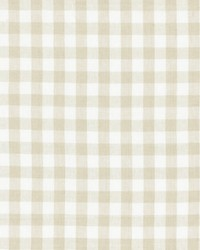 Scalamandre Swedish Linen Check Flax Fabric