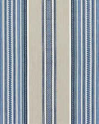 Scalamandre Cyrus Cotton Stripe Chambray Fabric