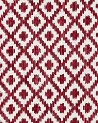 Scalamandre Malay Ikat Weave Raspberry Fabric