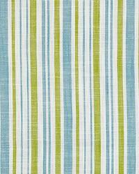Scalamandre Pembroke Stripe Ocean Palm Fabric