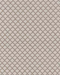 Scalamandre Scallop Weave Flax Fabric