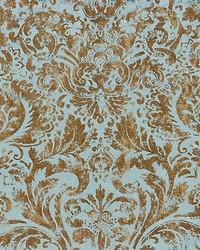 Scalamandre Palladio Velvet Damask Verdigris Fabric