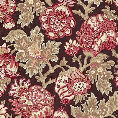 Scalamandre CANTERBURY LINEN PRINT MULBERRY Search Results