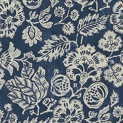 Scalamandre CALAIS LINEN PRINT INDIGO Search Results