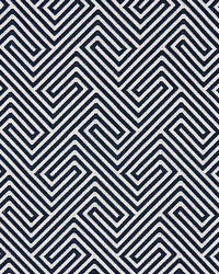 Scalamandre Labyrinth Weave Navy Fabric