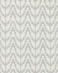 Scalamandre Chevron Embroidery Pearl Fabric