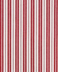 Scalamandre Devon Ticking Stripe Currant Fabric