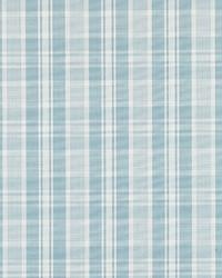 Scalamandre Preston Cotton Plaid Sky Fabric