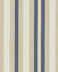 Scalamandre Santorini Stripe Indigo Fabric