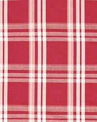 Scalamandre Modo Plaid Poppy Fabric