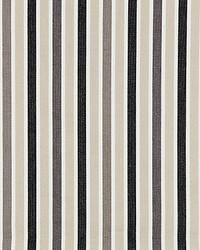 Scalamandre Leeds Cotton Stripe Stone Fabric