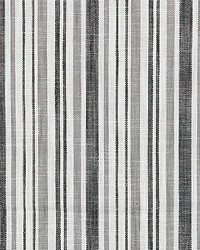 Scalamandre Pembroke Stripe Charcoal Fabric
