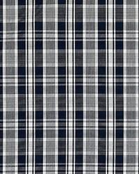 Scalamandre Preston Cotton Plaid Navy Fabric
