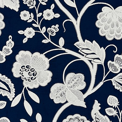 Scalamandre KENSINGTON EMBROIDERY NAVY Search Results