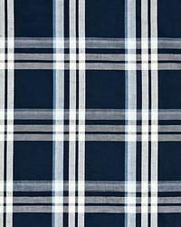 Scalamandre Modo Plaid Bluestone Fabric