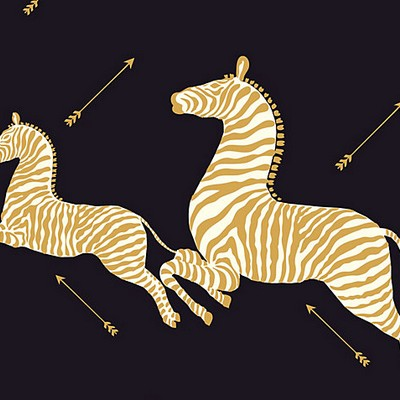 Scalamandre Wallcoverings ZEBRAS BLACK Search Results
