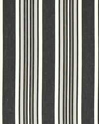 Scalamandre Strada Stripe Ebony Fabric