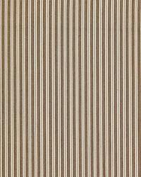 Scalamandre Kent Stripe Sepia Fabric